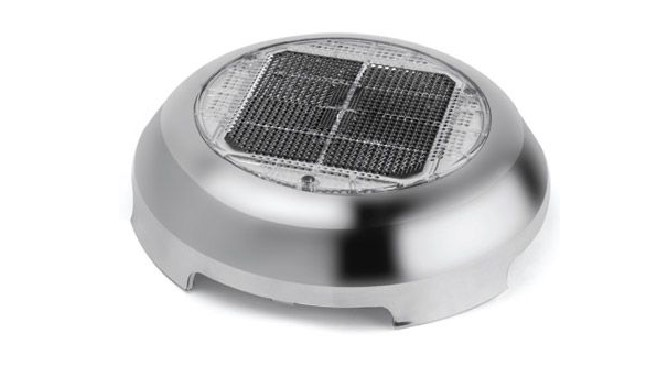 3 inch Day/Night Vent with Stainless Cover solar vent, venting for compost toilet