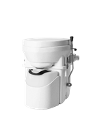 Nature's Head Composting Toilet with Shifter Handle composting toilet, waterless toilet, self-contained toilet