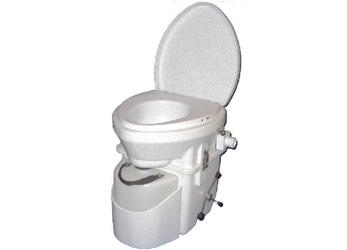Natures Head Composting Toilet with Spider Handle  composting toilet, waterless toilet, self-contained toilet