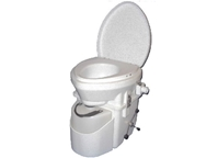 Nature's Head Composting Toilet with Spider Handle  composting toilet, waterless toilet, self-contained toilet