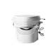 Nature's Head Composting Toilet with Foot Spider Handle - NH-Ft-Spdr