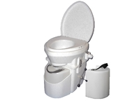 Nature's Head Composting Toilet with Spider Handle and Extra Liquids Bottle